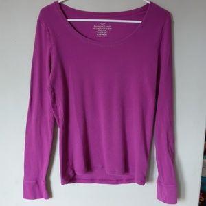 Dark violet long sleeve Tee